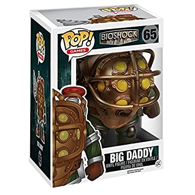 Funko POP Games: Bioshock - Big Daddy 6  Action Figure