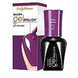 Sally Hansen Salon Gel Nail Polish, Polished Purple, 0.25 Fluid Ounce