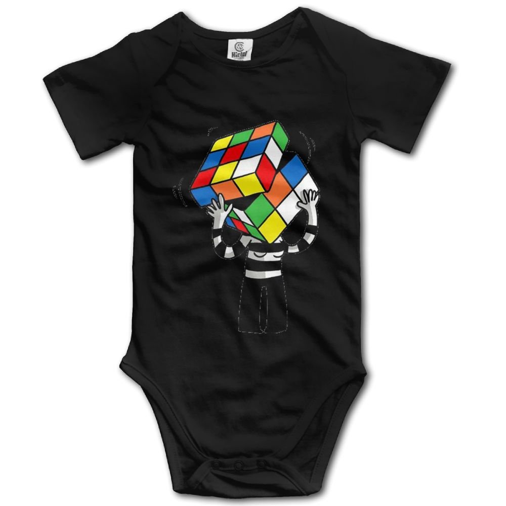 Rainbowhug Magic Cube Unisex Baby Onesie Lovely Newborn Clothes Concise Baby Outfits Comfortable Baby Clothes