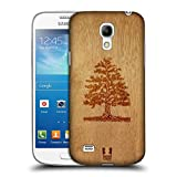 Head Case Designs Tree Wood Art Protective Snap-on Hard Back Case Cover for Samsung Galaxy S4 mini I9190 Duos I9192