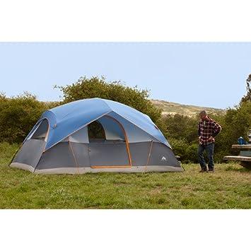 Ozark Trail 14x8 8-Person Dome Tent  sc 1 st  Amazon.com & Amazon.com : Ozark Trail 14x8 8-Person Dome Tent : Family Tents ...