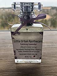Little Urban Apothecary - Canada - All Natural Calming Lavender - Body & Mind Spray - Lavender Essential O