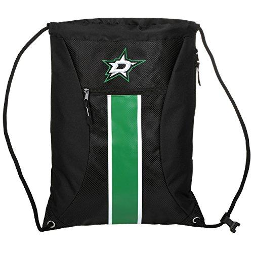 Star Backpack All Drawstring - Dallas Stars Big Stripe Zipper Drawstring Backpack
