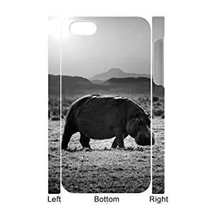 VNCASE Hippo Phone Case For Iphone 5C [Pattern-1]