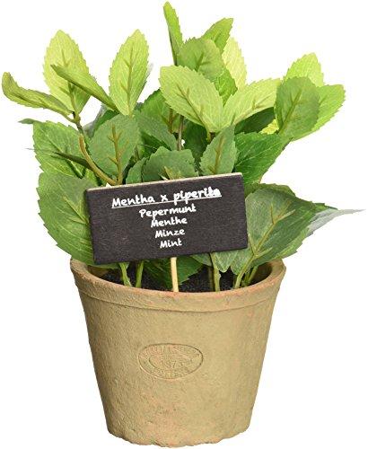 Esschert Design Artificial Herb Plant, Mint, Large ()