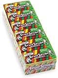 Fruit Stripe Bubble Gum, 1.8 Ounce Pack, 12 Count
