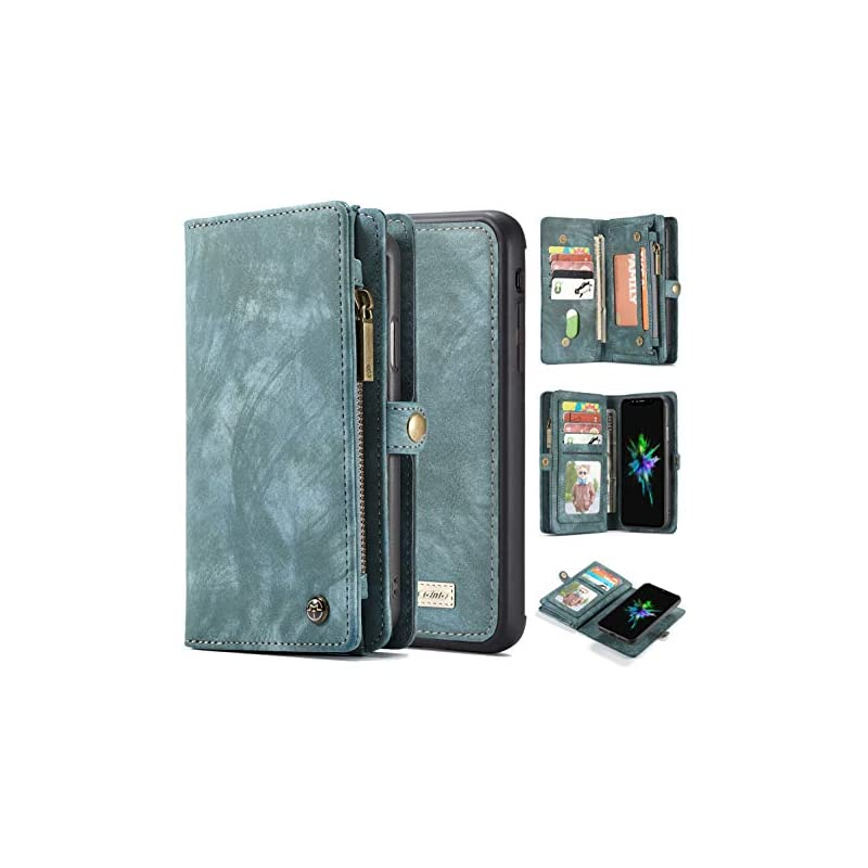 iPhone Xs Max Wallet Case,AKHVRS Handmad