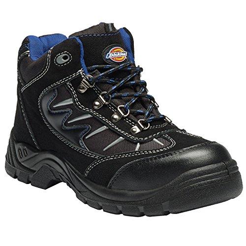 Dickies FA23385A BK 11+ STORM Chaussures haute sécurité S1-P Taille 46 Noir