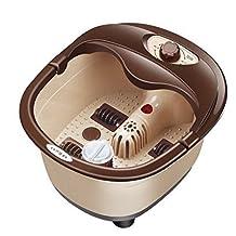 Automatic Heated Electric Footbath Massage Pediluvium Bucket Foot Bath Massager By Scshop