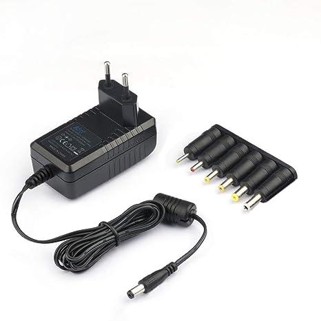 KFD Cargador 12V 220V Alimentador Adaptador Universal Corriente Para Western Digital, Disco duro externo, Dvd externo, LED Power Strip Fuente ...