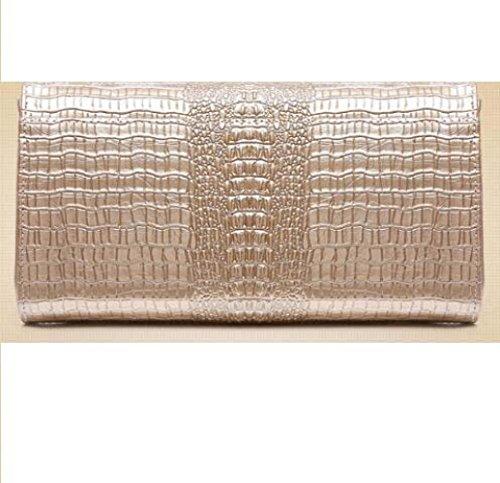 Borsa In E Catena Messenger Moda Gold Pelle Uniti Borse Wlfhm Coccodrillo Clutch Tracolla Stati Modello Donna Europa wp686B