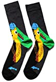 Mens Rapper Gangster Toucan Bird Socks One Size UK 9-12