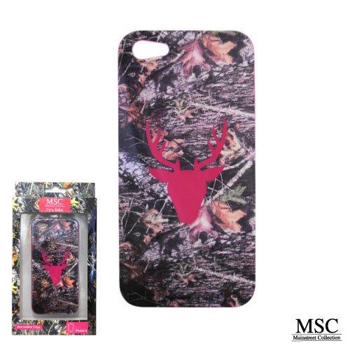 Mainstreet Collection iPhone 5 Camo Belles Camoflauge Deer Hot Pink Phone Case