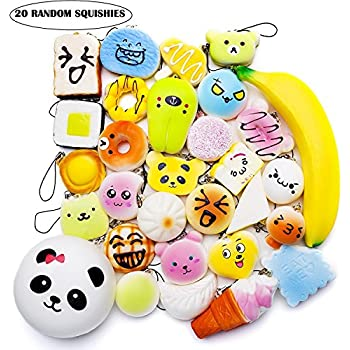 Squishy Romania : Amazon.com: Slow Rising Kawaii Cute Soft Unicorn Squishy Toy For Stress Relief: Toys & Games