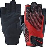 Nike Men's Core Lock Training Gloves 2.0 (Black/University Red, Small)