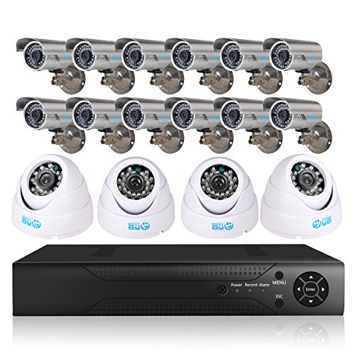 JOOAN TC-5357DVR-16Y 16 Channel DVR 700tvl Security Camera System CCTV Surveillance Video Recorder Day/Night