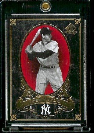 2007 Upper Deck SP Legendary Cuts # 52 Joe DiMaggio - Yankees - Baseball Trading Card ()