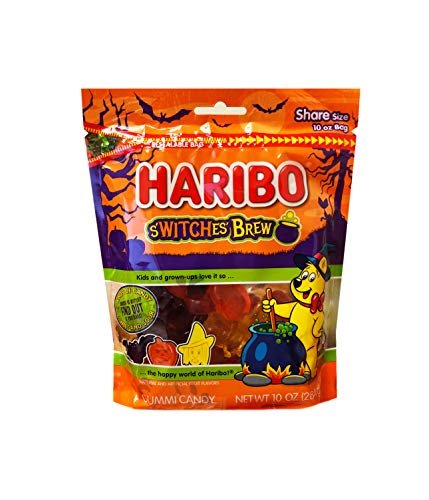 Haribo New Halloween Limited Edition S'witches' Brew Sharing Size 10oz Bag -