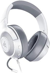 Razer Kraken X Ultralight Gaming Headset: 7.1 Surround Sound Capable - for PC, Xbox, PS4, Nintendo Switch - White (Renewed)