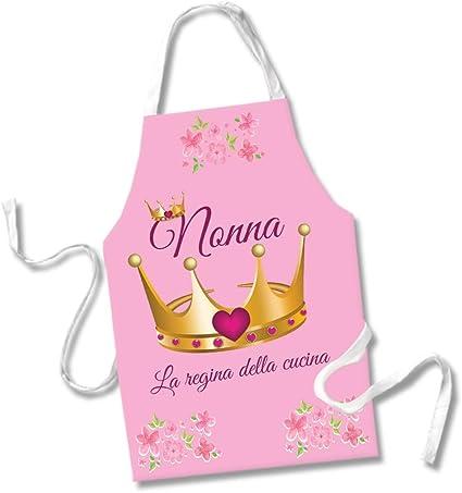 Babloo Tablier De Cuisine Avec Inscription Nonna Regina Della