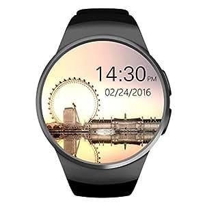 BESSKY KW18 Bluetooth Muñeca SIM-Card Call Smart Watch Podómetro Mate para 4S, 5,5C, 5S, 6,6P, 6S, iOS 6.1 Aove, Android 4.3 Above