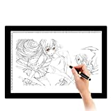 A4 Light Box LED Touch Modern Illumination Ultra-Slim Art Craft Design Photo Tracing Design Lightbox Light Pad