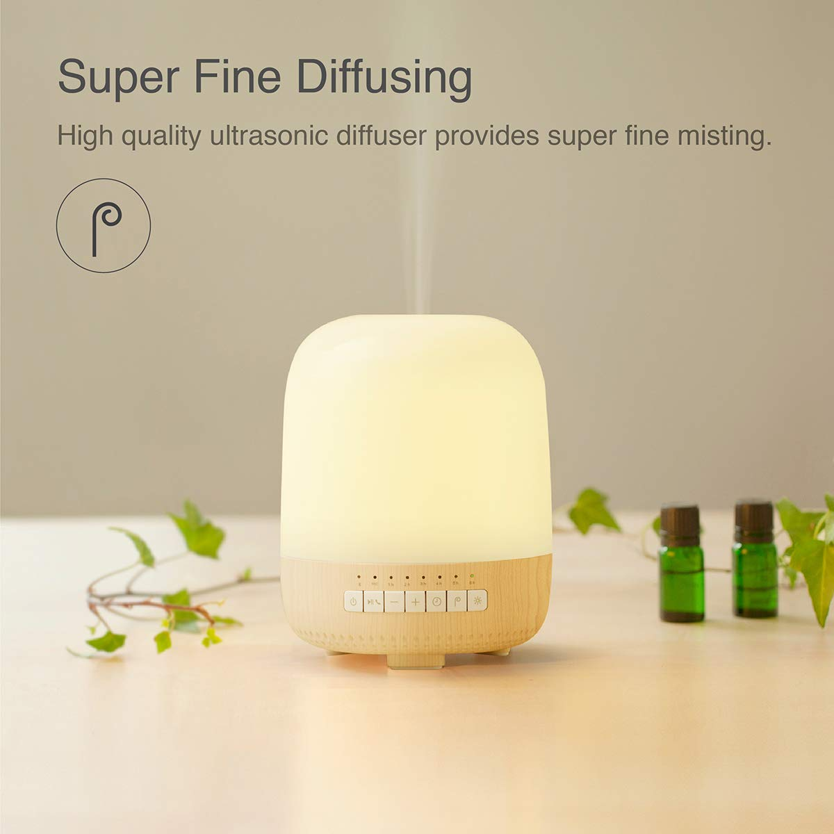 emoi 3-in-1 Aromatherapy Diffuser, Bluetooth Speaker and Multiple Colours Lamp (200ml) by emoi (Image #5)