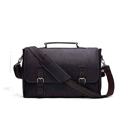 Men s Leather Tote Bag Briefcase Men European and American Fashion Business  Bag Crossbody Bag Trip Work ff902e1fc2