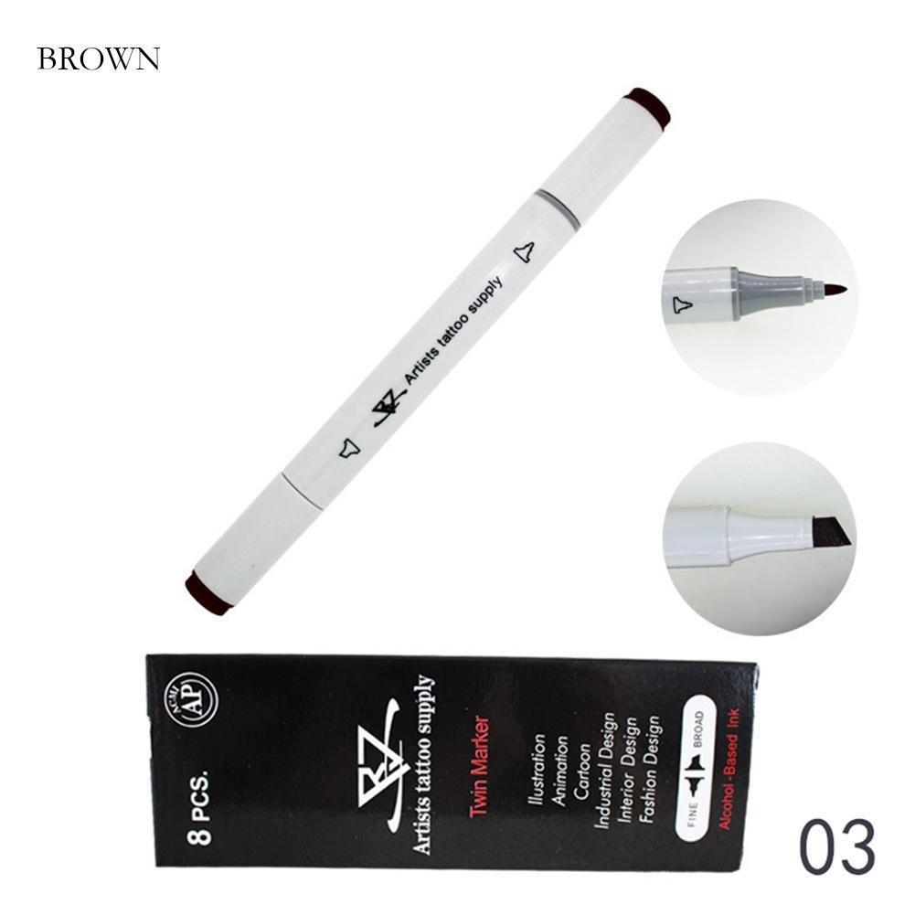 Gracefulvara 1pcs DIY Tattoo Body Art Pen Cosmetics Tool 1#