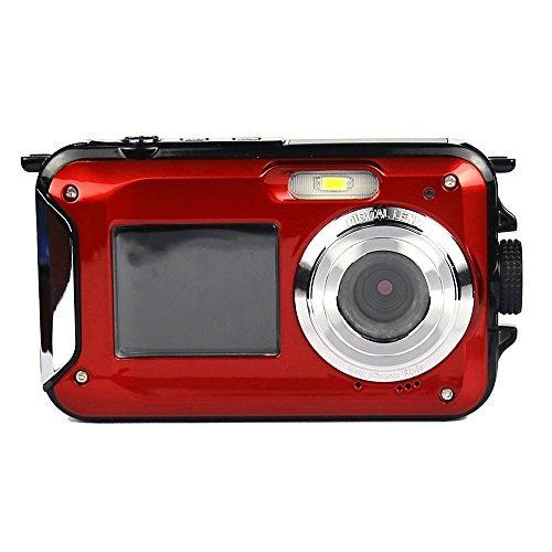PowerLead PLDH21 Double Screens Waterproof Digital Camera 2.