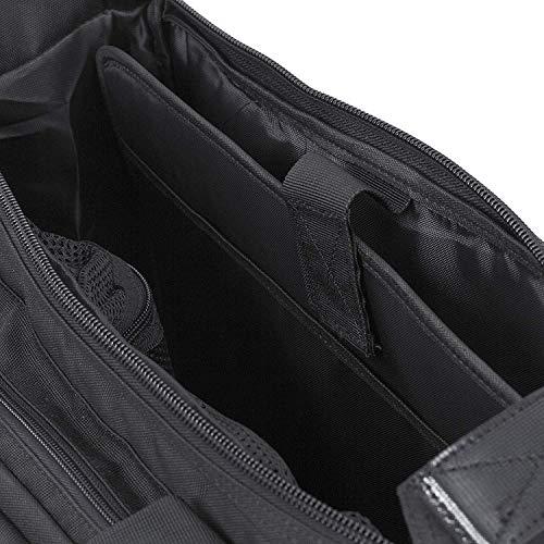 """Seibertron Pro-Multifunction Shoulder Messenger Bag Fit for 14.1"""" Laptop Black"""