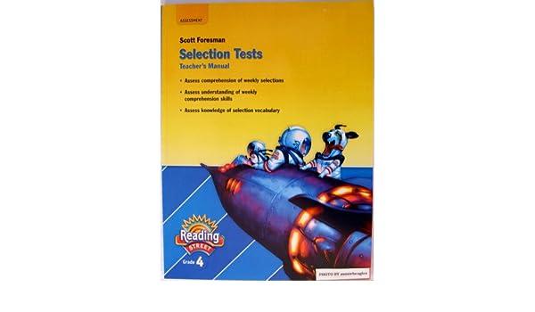 Scott Foresman Reading Street Selection Tests Teacher S