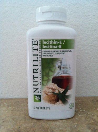 Chewable NUTRILITE Lecithin-E helps restore vitamin E ...