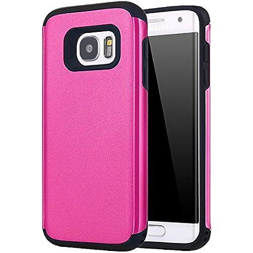 S7 Edge Case, Galaxy S7 Edge Case, Kaesar [Slim Design] [Scratch-Proof] Cases Premium Double Hybrid Hard/Soft Sales