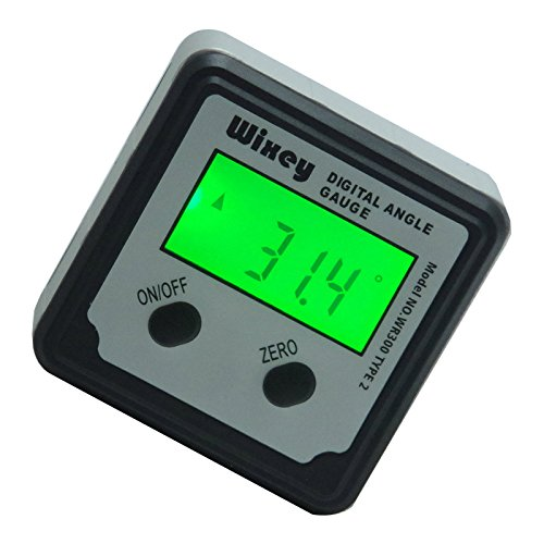 Gauge Saw - Wixey WR300 Type 2 Digital Angle Gauge with Backlight...
