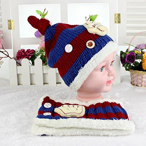 BUOCEANS Cappellini sciarpe bimbi 01692da2ab22