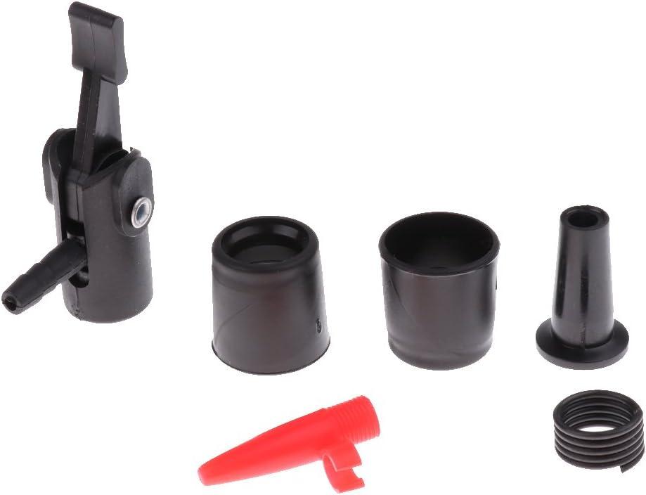 MagiDeal Mehrzweck-Pumpen-Kit Benzin-Absauger Transfer Wasser Fl/üssigkeits-Treibstoff mit Adapter