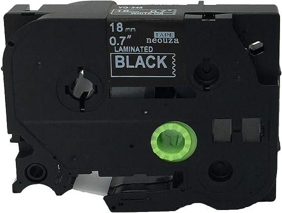 neouza kompatibel f/ür Brother P-Touch laminiert TZe TZ Label Tape Tintenpatrone 18/mm TZe-243 Blue on White