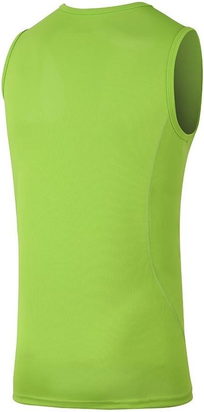 H.MILES Mens Sleeveless T-Shirt Gym Running Training Tank Top Workout Sport Vest Basketball Jersey