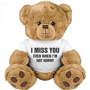 Funny Valentine's Day Gift Bear: Medium Teddy Bear Stuffed Animal
