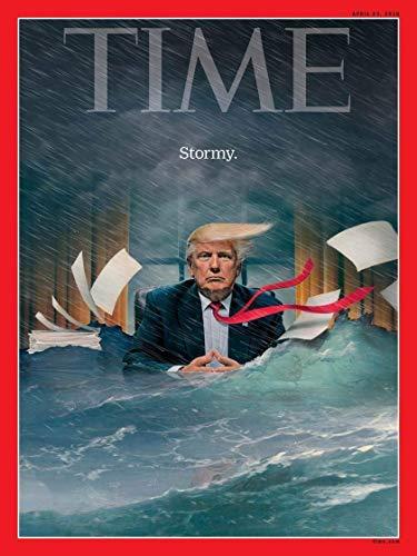 Time Magazine (April 23, 2018) President Donald Trump Stormy Daniels Cover