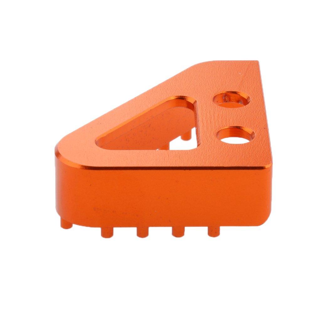 Gazechimp CNC P/édale Plaque Frein Arri/ère Pointe de Levier pour KTM 125 200 390