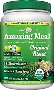 Amazing Grass Amazing Meal Original, 15 servings, 12.5 Ounces