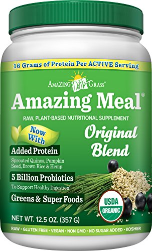 Amazing Grass Original servings Ounces