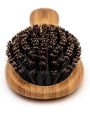 Chibello Boar Bristle Hair Brush Set - Designed For Kids, Women And Men. Natural Soft Bristle Brushes Work Best For Thin And Fine Hair. Wood Wet Detangler Comb