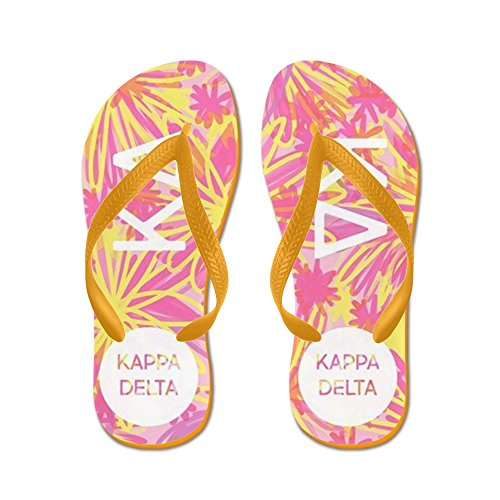 Cafepress Kappa Delta Tropisch Roze - Flip Flops, Grappige String Sandalen, Strand Sandalen Oranje
