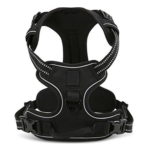REXSONN® Ultra-Soft Hundegeschirr Softgeschirr Brustgeschirr Hunde Geschirr Sicherheitsgeschirr pet dog vest Harness