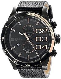 Men's DZ4327 Double Down Series Analog Display Analog Quartz Black Watch