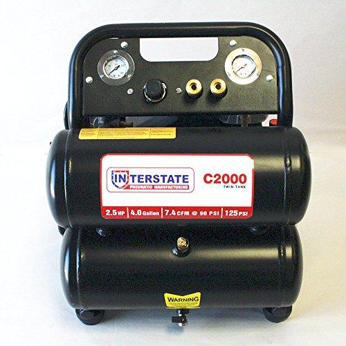 125 psi portable air compressor - 9