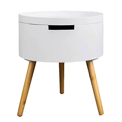 Amazon.com: Folding table Corner table Round living room Telephone ...